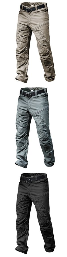 YUNY Mens Cargo Tactical Work Trousers Regular Fit Fall Winter Pants Navy Blue 35