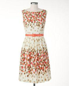 Ombre dots dress $129.95