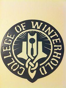 "Skyrim College of Winterhold Steel Wall Sculpture Custom Plasma Cut 15""   eBay"