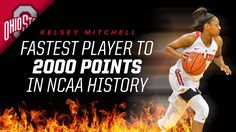 12-7-2016 KELSEY MITCHELL FASTEST PLAYER TO 2,000 POINTS IN NCAA HISTORY.