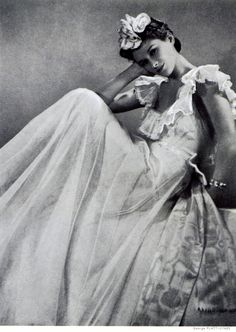 Chanel Dress - 1937 - House of Chanel - Design by Gabrielle 'Coco' Chanel.