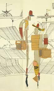 Afbeeldingsresultaat voor saul steinberg the discovery of america