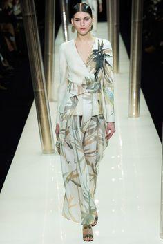 Armani Privé Spring 2015 Couture Fashion Show - Valery Kaufman (Elite)