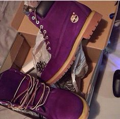 Violet timberland