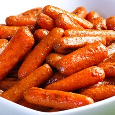 Cinnamon Roasted Baby Carrots