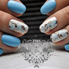 Beautiful nail art designs that are just too cute to resist. It's time to try out something new with your nail art. Beautiful Nail Designs, Beautiful Nail Art, Fabulous Nails, Gorgeous Nails, Spring Nails, Summer Nails, Nagellack Trends, Manicure E Pedicure, Gel Nail Designs