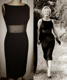Vista-se como uma pin-up - Estilo Marilyn Monroe Marilyn Monroe Outfits, Estilo Marilyn Monroe, Marilyn Monroe Photos, Vintage Dresses, Vintage Outfits, Vintage Fashion, Sheer Dress, Dress Up, Estilo Pin Up