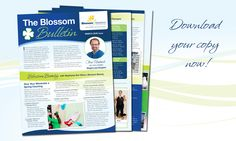 The Blossom Bulletin is available for download today. It has all the great tips and inspiring words to get you moving, motivated and happy! http://blossombariatrics.com/blossom-bulletin-march-issue/