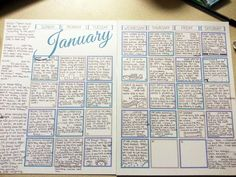 Calendar Journal. Make journal keeping super easy by using a calendar to write down one or two sentences a day. Keep track of all the important things, cute kid quotes, special occasions and events and the day-to-day life events too. Margins make great note areas for days you want more details. Great idea!