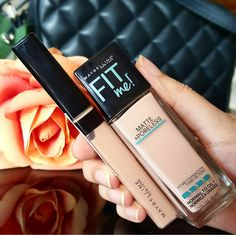 RIDZI MAKEUP: MAYBELLINE FIT ME MATTE PORELESS FOUNDATION REVIEW