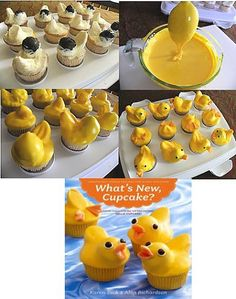 Duck Cupcakes, Muffin, Breakfast, Party, Desserts, Food, Morning Coffee, Tailgate Desserts, Deserts