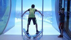 Richmond, British Columbia, Canada - ROX (Richmond Olympic Experience) - Sport Simulators | Rox