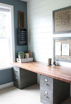 18+ Top Inspiring Home Office Decorating Ideas #officedesign #officefurniture #officedecor