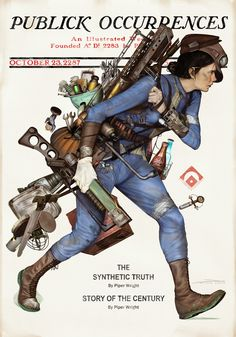 Benevolent Echinoderm — pixalry:  Norman Rockwell Fallout Posters -...