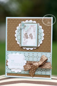 beautiful card! get this paper!!!