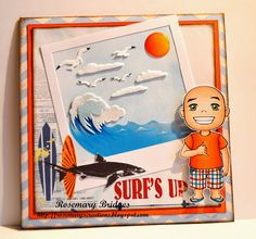 Surf's up Summer Chuckles project handmade by Rosie \nm/
