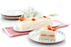 Pastel de verano con langostinos | Velocidad Cuchara