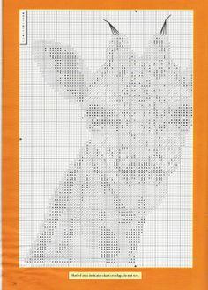 Free giraffe cross stitch pattern pg 1 #stitching #animals