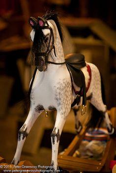 Victorian Child's Rocking Horse   Flickr - Photo Sharing!