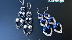 """Adore Heart"" Earrings DIY Beaded Earrings DIY jewelry How to make beaded earrings Diy Jewelry Rings, Diy Jewelry Unique, Diy Jewelry To Sell, Heart Jewelry, Jewelry Making, Diy Jewellery, Fashion Jewelry, Jewelry Findings, Wire Jewelry"