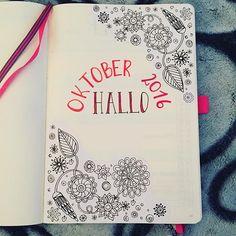 🎃 hallo Oktober 🍂  Hab mir was zum Malen dazu geklebt 😉 --------------------------------- #leuchtturm1917 #leuchtturm1917de #bujo #bujojunkies #bujolove #bulletjournal #bulletjournaling #bulletjournaljunkies #bulletjournallove #bulletjournalnewbie #planner #plannergirl #plannerlove #planneraddicted