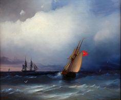 Aivazovsky art, oil paint