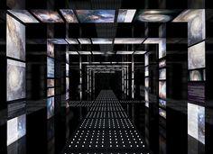 Interior design for Planetarium Дипломный проект on Behance