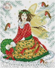 Zima, Gile i Dziewczynka w Świątecznej Sukience