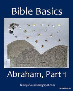 Abraham Toddler/Preschool Bible Lesson