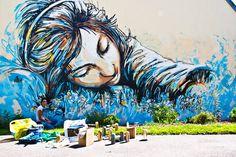 Alice Pasquini #StreetArt #UrbanArt
