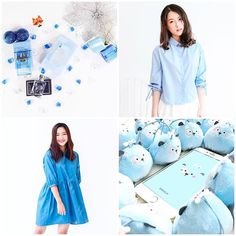 """BLUE  Gift idea for Valentine day  """"JUST GENTLY TAG YOUR BAE """" Get it from - @sinoshop (Perfume - HCM) - @bleubirdclothing (Top - HN) - @nakedbyv (Dress - HN) - @sikulashop (HCM)  via HARPER'S BAZAAR VIETNAM MAGAZINE OFFICIAL INSTAGRAM - Fashion Campaigns  Haute Couture  Advertising  Editorial Photography  Magazine Cover Designs  Supermodels  Runway Models"""