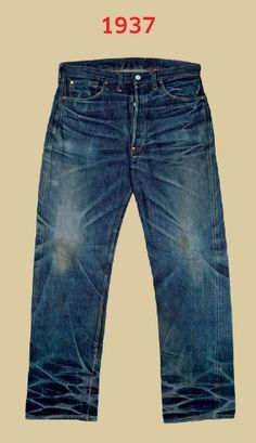 150 years of Levis 501's