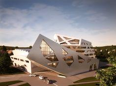Geplanter Libeskind-Bau für Lüneburg: Teurer als geplant