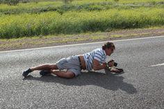 Il duro mestiere del fotografo sulle strade dell'Australia