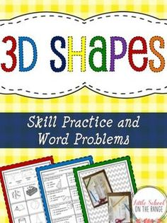 This unit contains all that you need to teach your students about Polygons. It provides multiple activities as well as assessments. Common Core and TEKS aligned! This unit contains: -Foldable Activity for 3D Shapes (Can be used in interactive notebooks)-I
