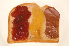 Toast with jam French Toast Sandwich, Nutella, Healthy Baby Food, Cheesesteak, Baby Food Recipes, Breakfast Recipes, Bacon, Food And Drink, Snacks