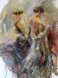 Kai Fine Art is an art website, shows painting and illustration works all over the world. Blue Painting, Figure Painting, Painting & Drawing, Painting Tips, Watercolor Painting, Anna Razumovskaya, New York Art, Z Arts, Romanticism