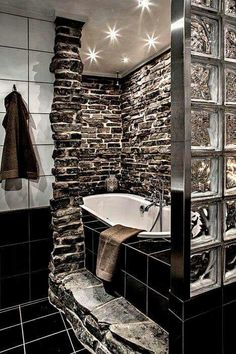 the stone work and tiling is perfect. out of this world