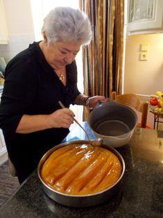 Greek Sweets, Greek Desserts, Greek Recipes, Pureed Food Recipes, Sweets Recipes, Cooking Recipes, Greek Meze, Greek Cookies, Macaron Recipe