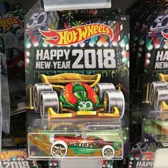 The 2018 Hot Wheels Holiday Models are out at Walmart – the Lamley Group