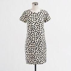 Factory optic dot dress