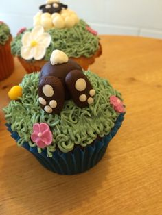 Bunny cupcake Easter
