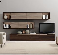 Buy Verona Wall Unit for Sale at Deko Exotic Home Accents. Verona wall unit with. - Buy Verona Wall Unit for Sale at Deko Exotic Home Accents. Verona wall unit with clean lines exempl - Tv Cabinet Design, Tv Unit Design, Tv Wall Design, House Design, Tv Design, Design Ideas, Design Inspiration, Living Room Wall Units, Bookshelves In Living Room