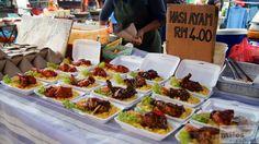 Nasi Ayam - Night Market in Cenang - Check more at https://www.miles-around.de/asien/malaysia/das-beste-essen-auf-langkawi/,  #Essen #Langkawi #Malaysia #Nachtmarkt #Reisebericht #Restaurant