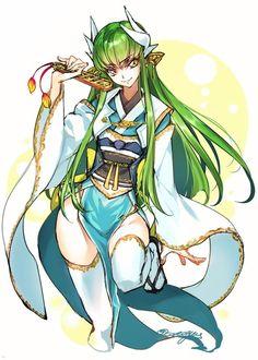 Code Geass x Fate, CC (Kiyohime cosplay), by creayus