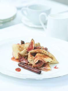 Palačinky podle receptu Zdeňka Lahovského, šéfcukráře hotelu Mandarin Oriental, jsou hotové nebe na zemi! Mandarin Oriental, French Toast, Breakfast, Morning Coffee