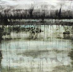 Acrylic on canvas 50 x 50 cm Sandrine Merrien