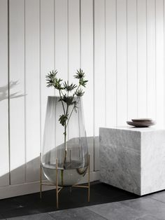 Echasse Vase Smoked by Theresa Arns for Menu