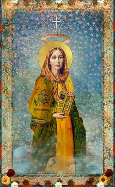 St Dymphna, born in seventh century when Ireland was almost universally Catholic, patroness of mental disorders and depression