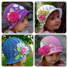 Crochet Cloche Hats Free Pattern